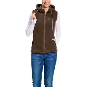 Tatonka Helston Vest Women chestnut brown